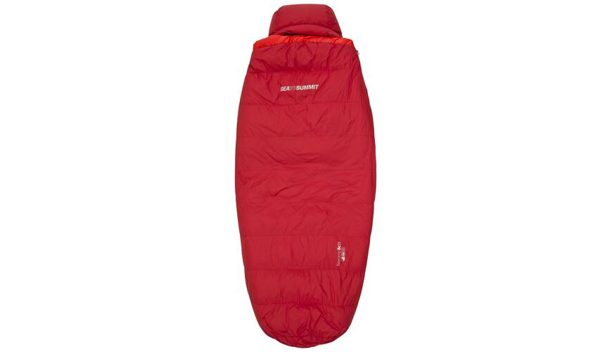 Sea to Summit BaseCamp BcII - Sacos de dormir - regular rojo